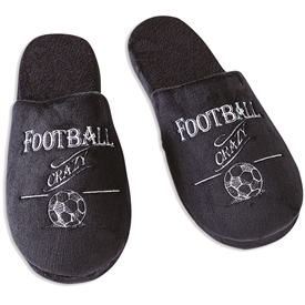 Football Slippers Large 31cm