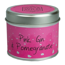 Candle in Tin - Pink Gin & Pomegranate