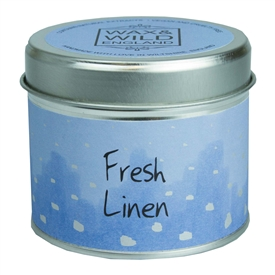 Candle in Tin - Fresh Linen