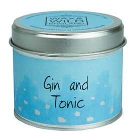 Candle in Tin - Gin & Tonic