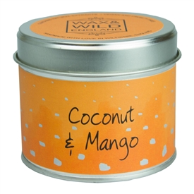 Candle in Tin - Coconut & Mango
