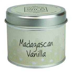 Candle in Tin - Madagascan Vanilla