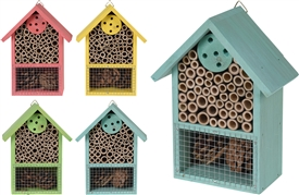 Colourful Insect Hotel 20cm 4 Assorted