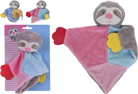 Sloth Baby Comforter 2 Assorted