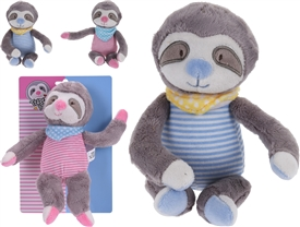 Sloth Plush 2 Assorted