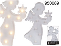 LED Angel Wall Decoration 28cm