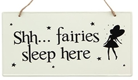 Metal Fairy Sign 4 Assorted 25cm