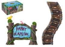 DUE FEBUARY 2021-Secret Fairy Garden Sign And Path