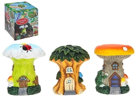 Secret Fairy Garden Tree And Mushroom Houses