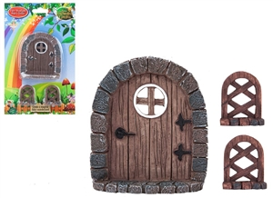 Secret Fairy Garden Door And Trellis Set