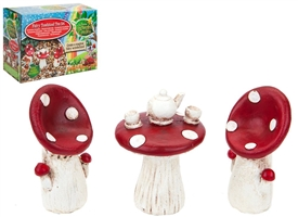 Secret Fairy Tea For Two Toadstool Set