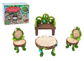 Secret Fairy Garden Woodland Furniture.