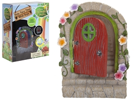 Solar Powered Fairy Door With Hinges