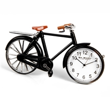 Pedal Bike Miniature Clock