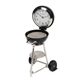 Round BBQ Minature Clock
