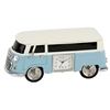 Miniature Clock - Blue Camper Van