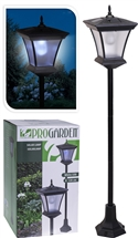 Large Solar Powered Lamp Post 1.2M