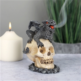 Black Dragon Incense Cone Holder 11cm