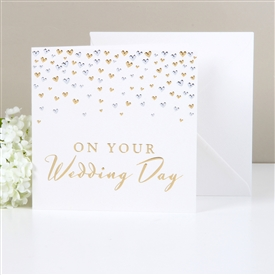 Amore Deluxe Card On Your Wedding Day