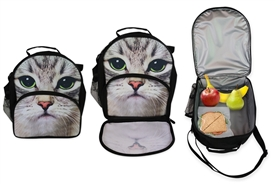 Cat Insulated Lunch Bag