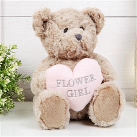 Will You Be My Flower Girl Teddy Bear