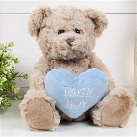 Will You Be My Page Boy Teddy Bear
