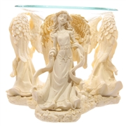 Cream Angel Oil Burner