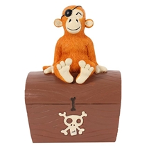 REDUCED Pirate Money Box 12cm