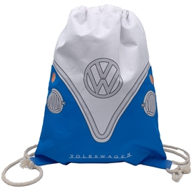 Volkswagen Blue Campervan Drawstring Bag 46cm