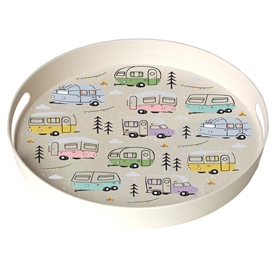Multicoloured Campervan Tray