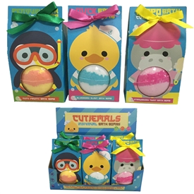 Cutiemals Bath Bomb 3 Assorted