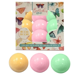 Pack Of 9 Bath Bombs