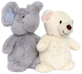 Bear And Elephant Doorstop 2 Assorted 25cm