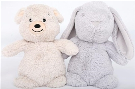 Bear And Rabbit Doorstop 2 Assorted 25cm