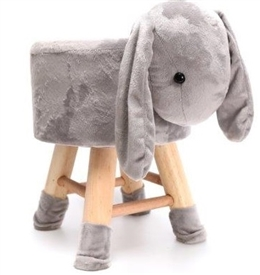 Plush Rabbit Stool