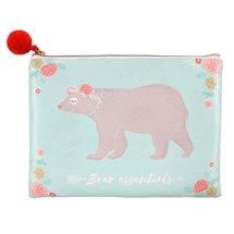 Bear Essentials Make Up Bag