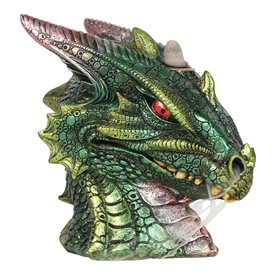 Green Dragon Head Backflow Burner