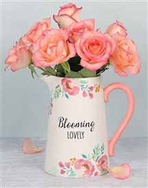 Blooming Lovely Jug (Flowers Not Included)