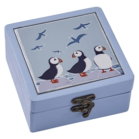 Puffin Jewellery Box