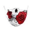 Reusable Face Mask  - Skull & Roses