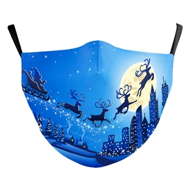 Reusable Face Mask - Christmas
