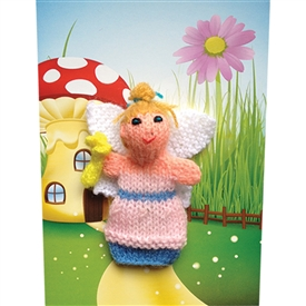 Fairy Finger Puppet Greetings Card