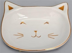 Cat Trinket Tray 13.5cm