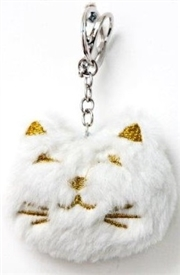 Plush Cat Keyring  13cm