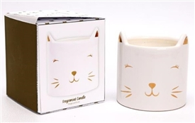 Scented Cat Candle 8cm