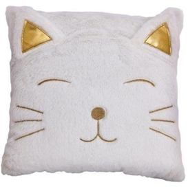 Sqaure Cat Cushion 35cm