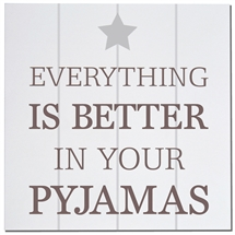 Better In Pyjamas Card