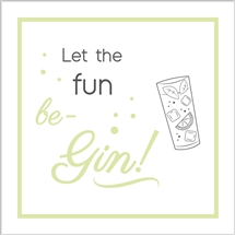 Fun Be Gin Card