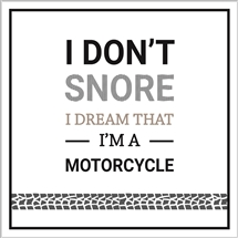 Dream I'm A Motorcycle Card
