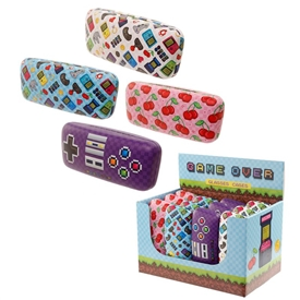 Game Over Glasses Case 16cm 4 Assorted